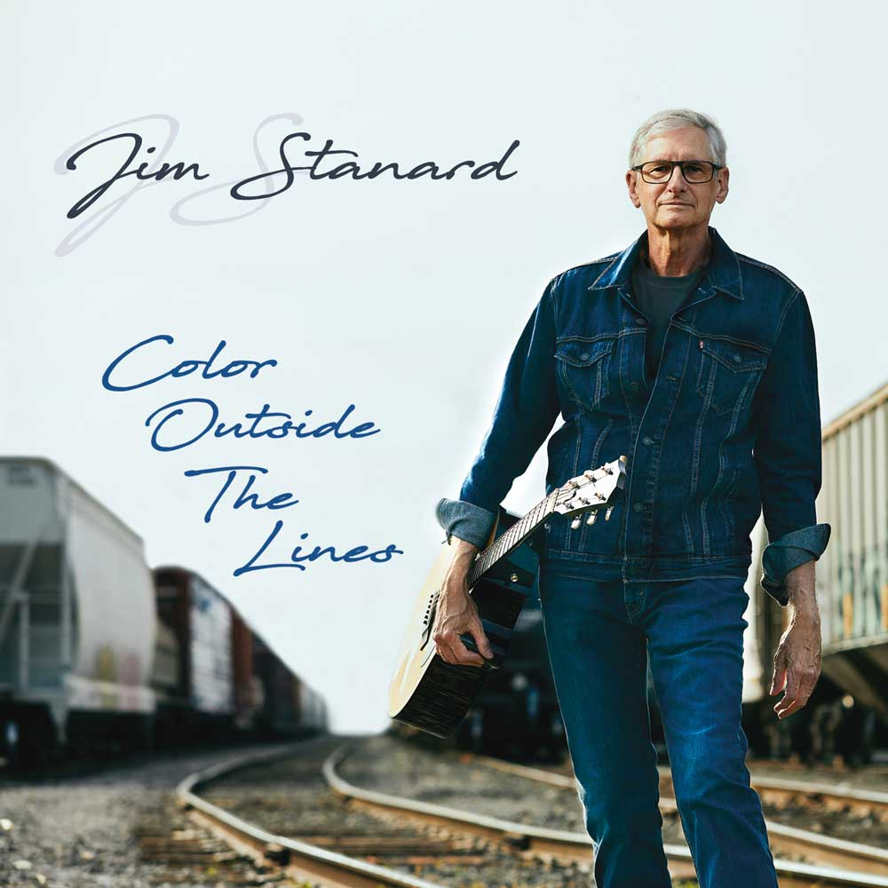 CD cover of 'Color Outside The Lines' by Jim Stanard