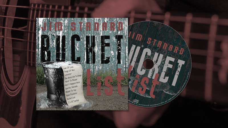 Bucket List CD cover